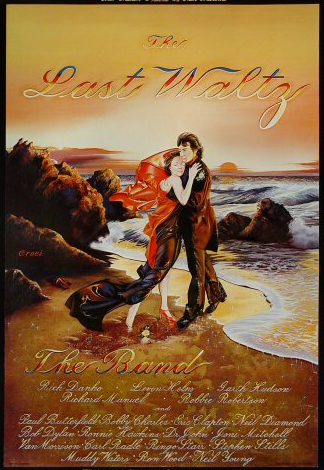 Last Waltz Poster - 17